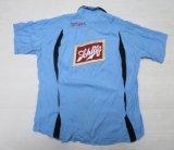 キングルイkinglouieアメリカ製チーンステッチrockボーリングシャツsレーヨンシャツ60'sビンテージ水色ロカビリー オールド&オールド