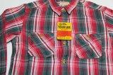 シュガーケーンSUGARCANEアメリカ製チェックネルシャツ織りヘビーネル